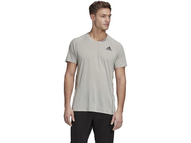 adidas Runner SS T-Shirt Men, metal grey